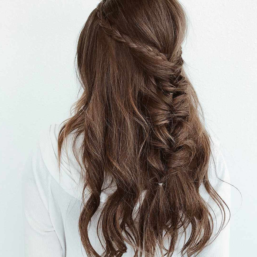 50 Braided Wedding Hairstyles We Love Within Preferred Fancy Braided Hairstyles (View 17 of 20)