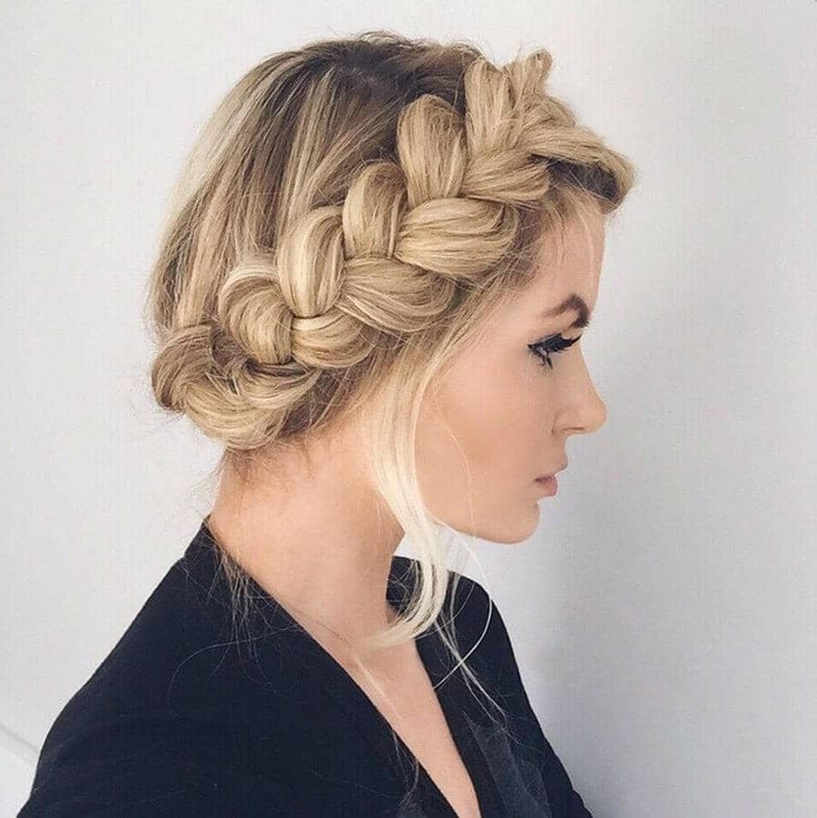 50 Trendy Dutch Braids Hairstyle Ideas To Keep You Cool In 2019 In Most Recently Released Asymmetrical French Braided Hairstyles (View 2 of 20)