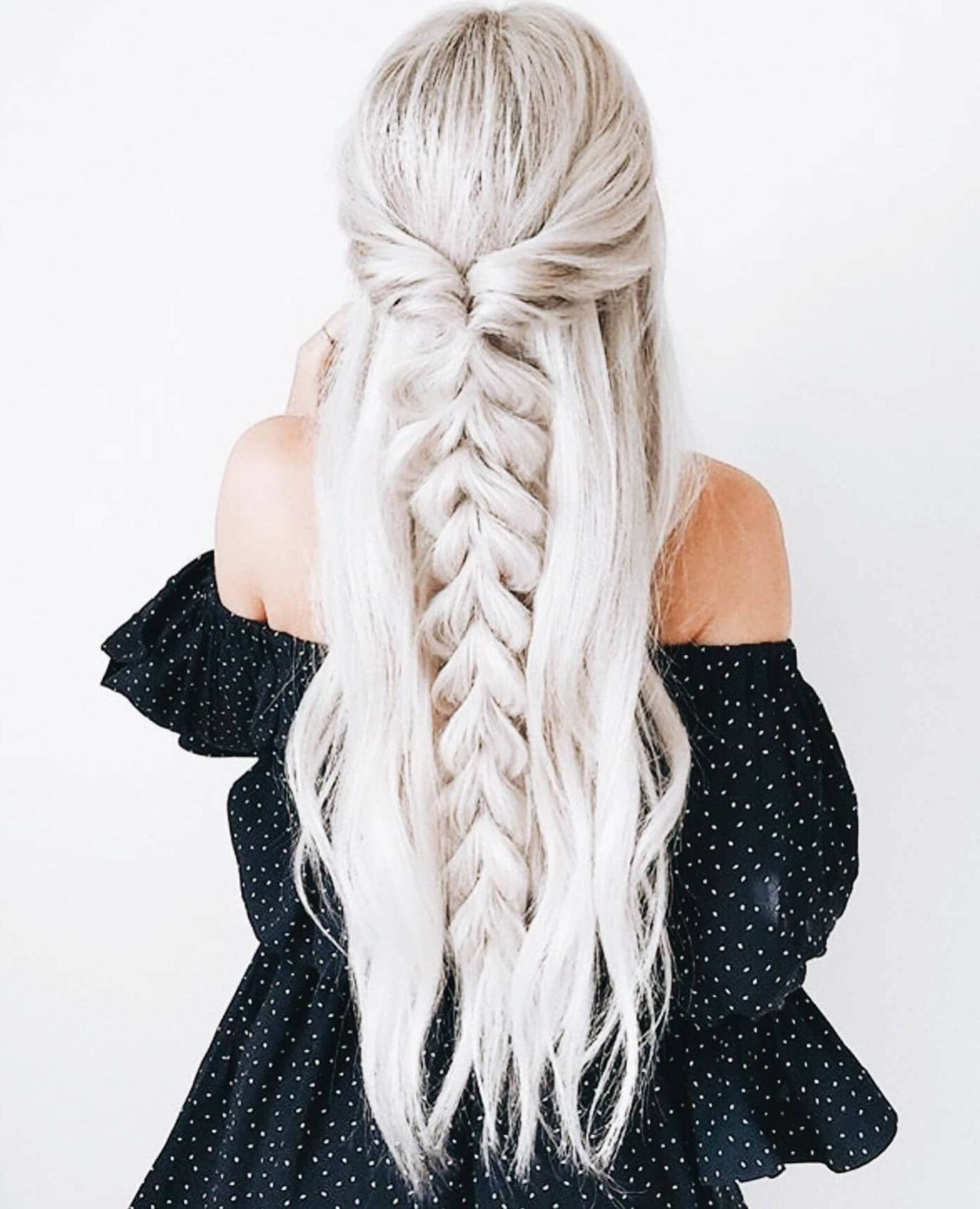 50 Unforgettable Ash Blonde Hairstyles To Inspire You With Regard To Famous Blonde Asymmetrical Pigtails Braid Hairstyles (View 16 of 20)