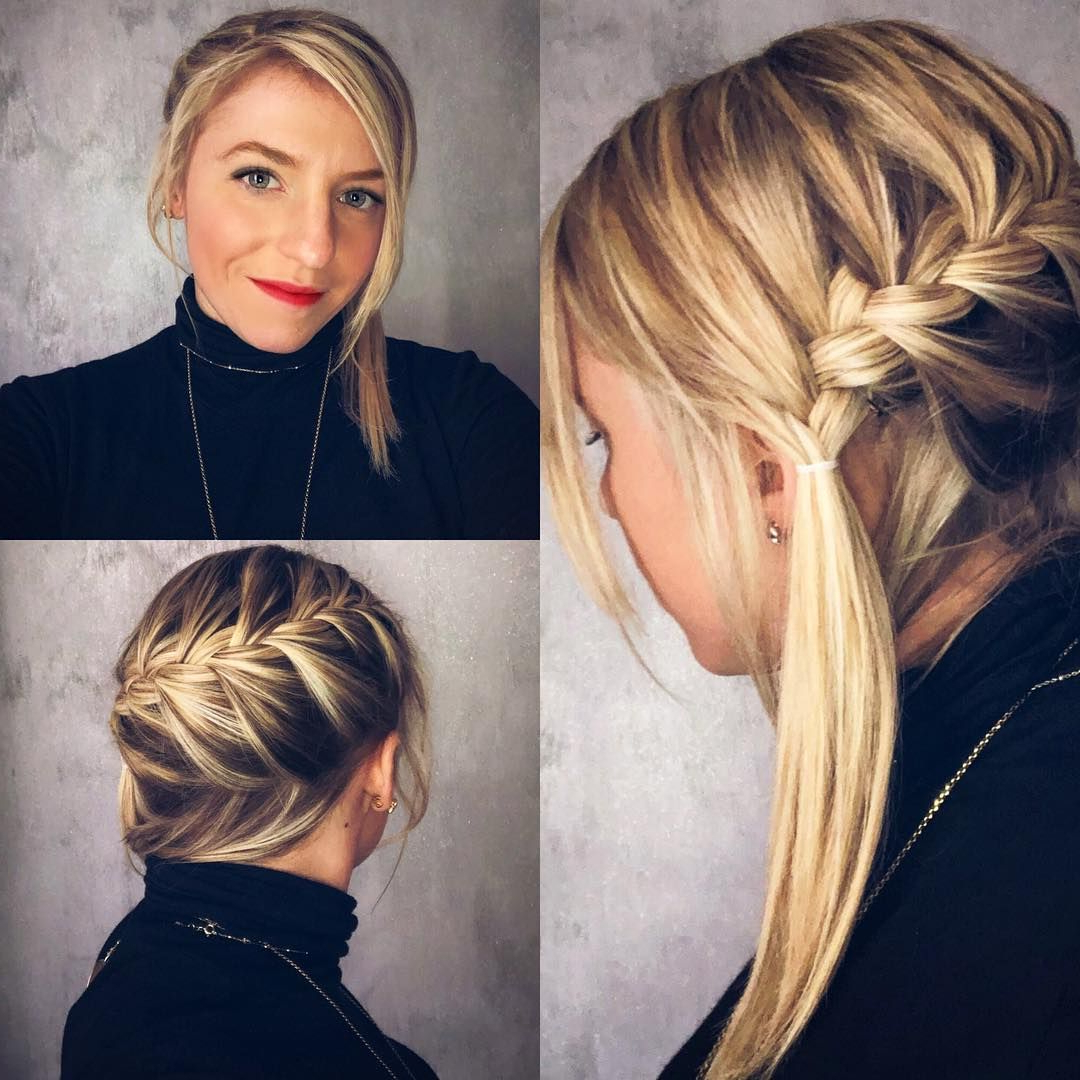 55 Trendy Braided Hairstyle That Are Style Statement (View 4 of 20)