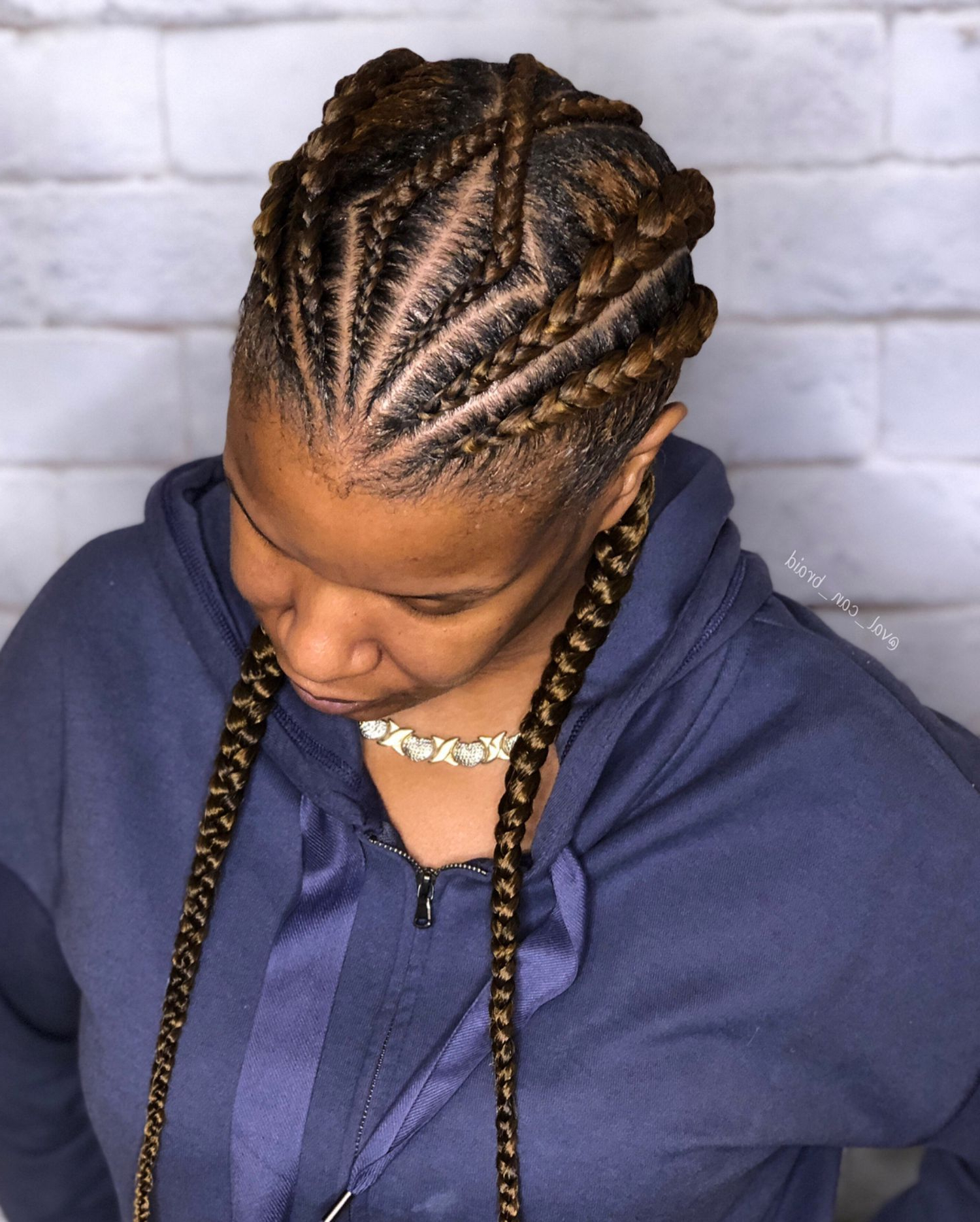 60 Inspiring Examples Of Goddess Braids (Gallery 3 of 20)