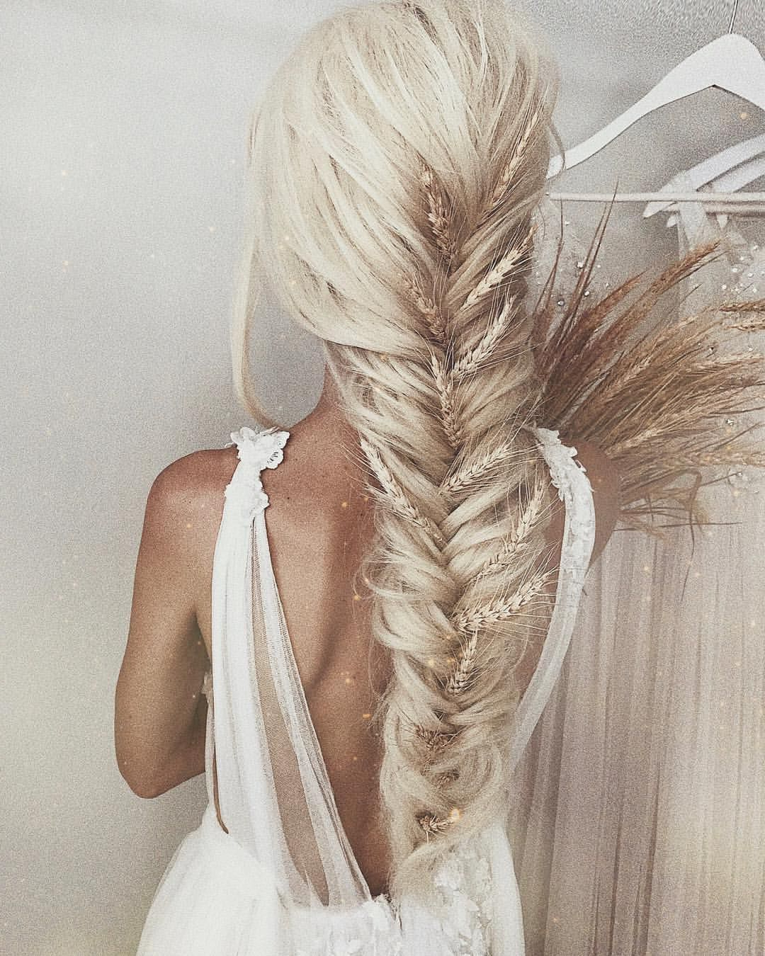62 Wedding Hairstyles From Ulyana Aster To Get You Inspired Inside Famous Billowing Ponytail Braided Hairstyles (View 2 of 20)