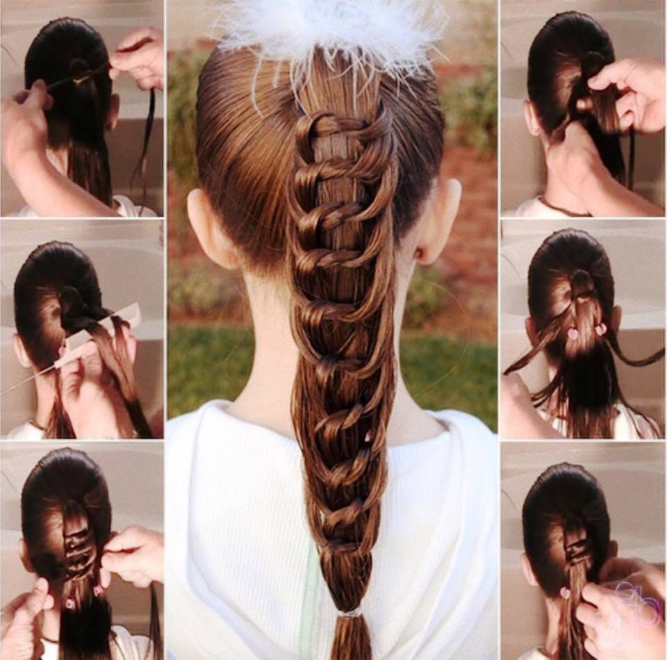 72 Trendy Diy Hairdo Braid Tutorials To Hog The Limelight With Regard To Most Current Billowing Ponytail Braided Hairstyles (View 4 of 20)