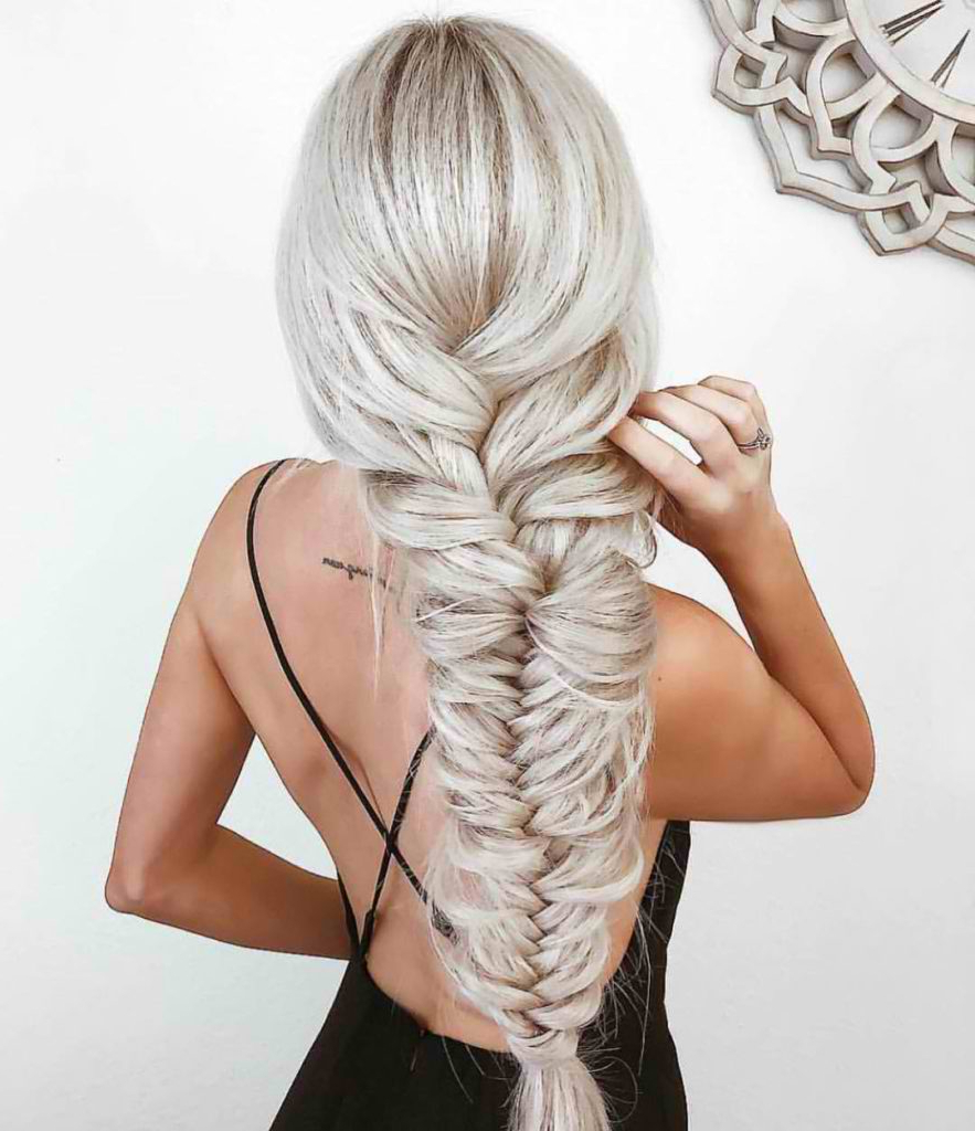 90 Beautiful Braid Hairstyles That Will Spice Up Your Looks Intended For Best And Newest Elegant Blonde Mermaid Braid Hairstyles (View 5 of 20)