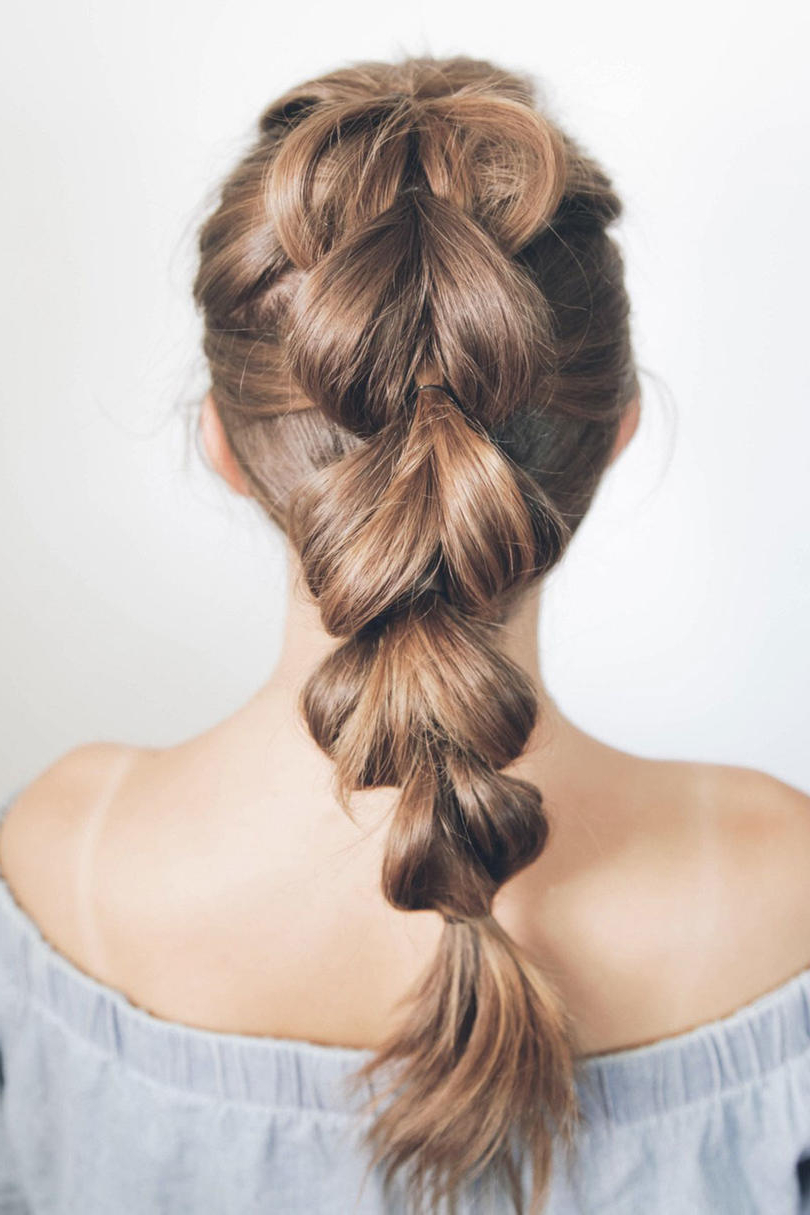 90 Beautiful Braid Hairstyles That Will Spice Up Your Looks Within Favorite Curvy Braid Hairstyles And Long Tails (View 13 of 20)