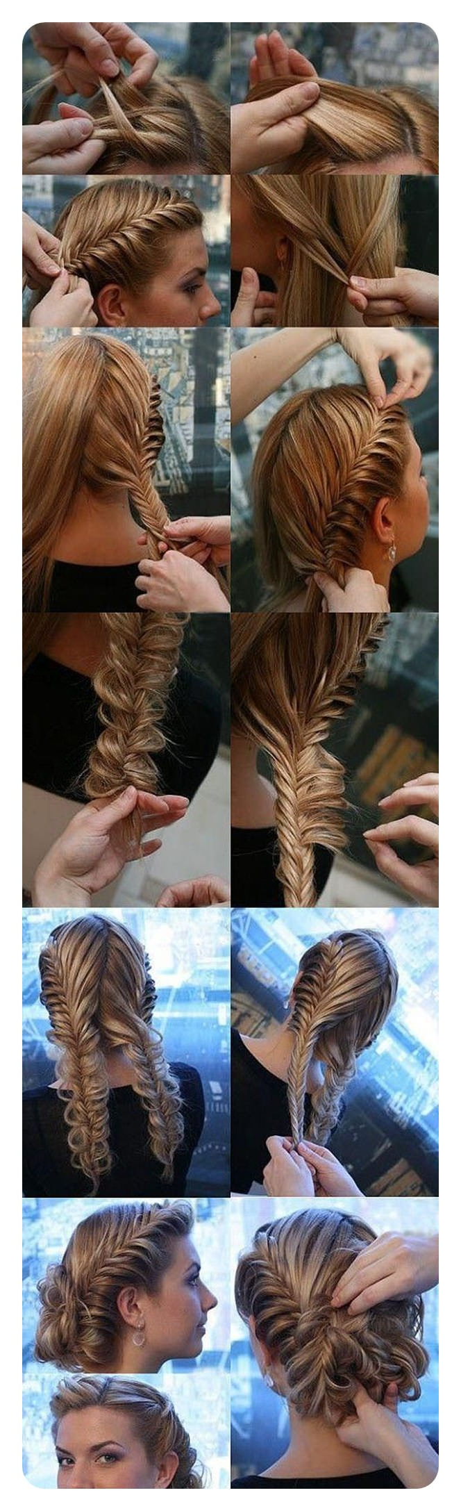 94 Incredible Fishtail Braid Ideas With Tutorials Intended For Favorite Messy Mermaid Braid Hairstyles (View 2 of 20)