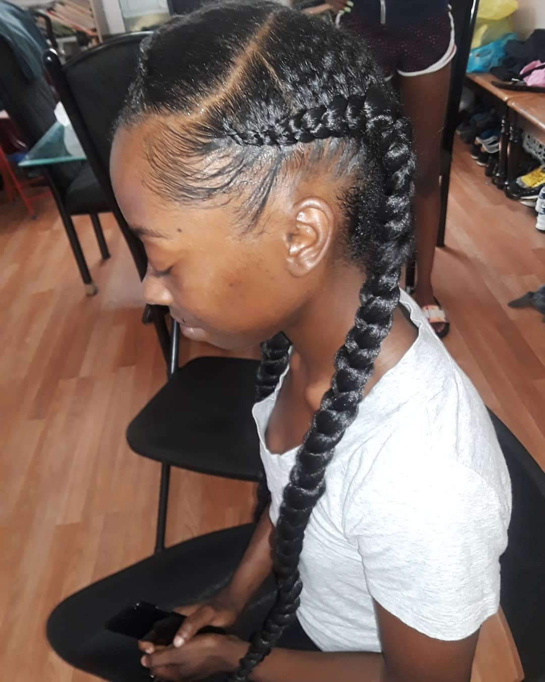 99 Two Braids And You've Got It Made Inside Well Known Blonde Asymmetrical Pigtails Braid Hairstyles (Gallery 18 of 20)