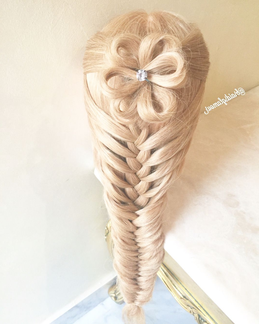A Flower Into Mermaid/fishtail Braid (View 10 of 20)