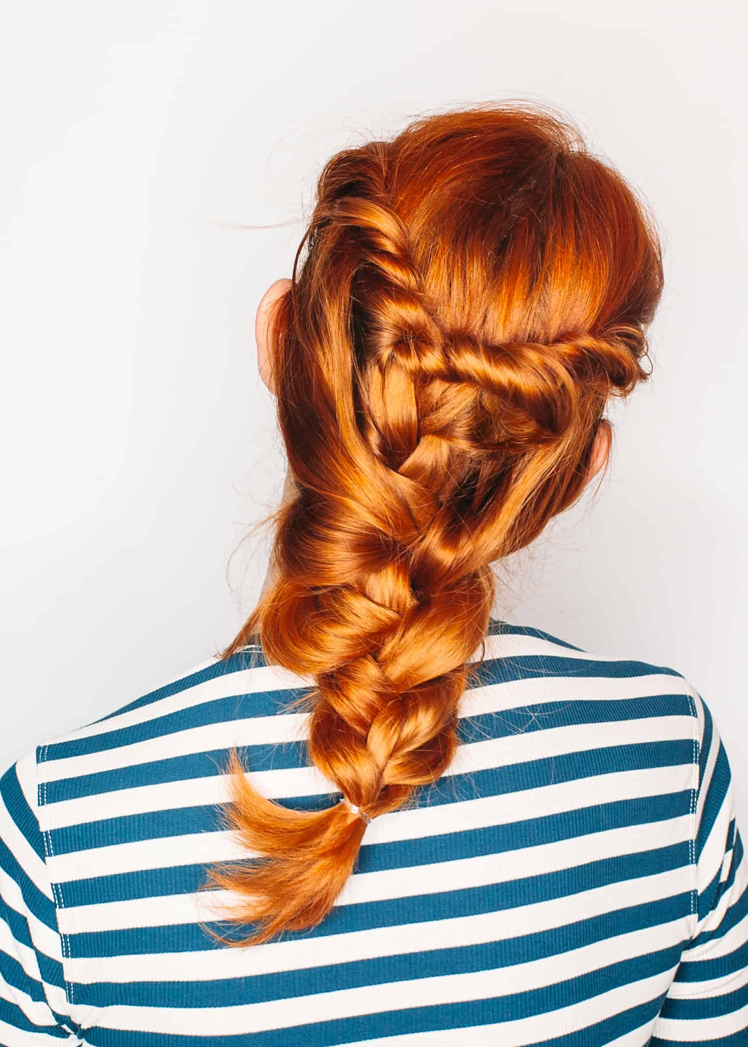 A Twist On The Classic Three Strand Braid – A Beautiful Mess For Well Known Three Strand Pigtails Braided Hairstyles (View 18 of 20)