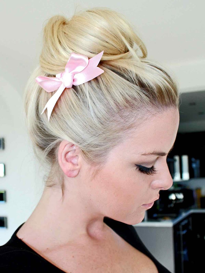 Featured Photo of Loosely Tied Braided Hairstyles With A Ribbon
