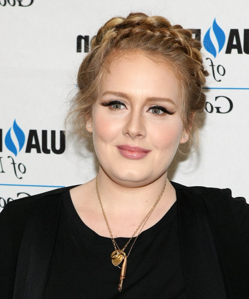 Adele Skipped Her Signature Bouffant For A Crown Of Braids For Best And Newest Braids And Bouffant Hairstyles (Gallery 15 of 20)