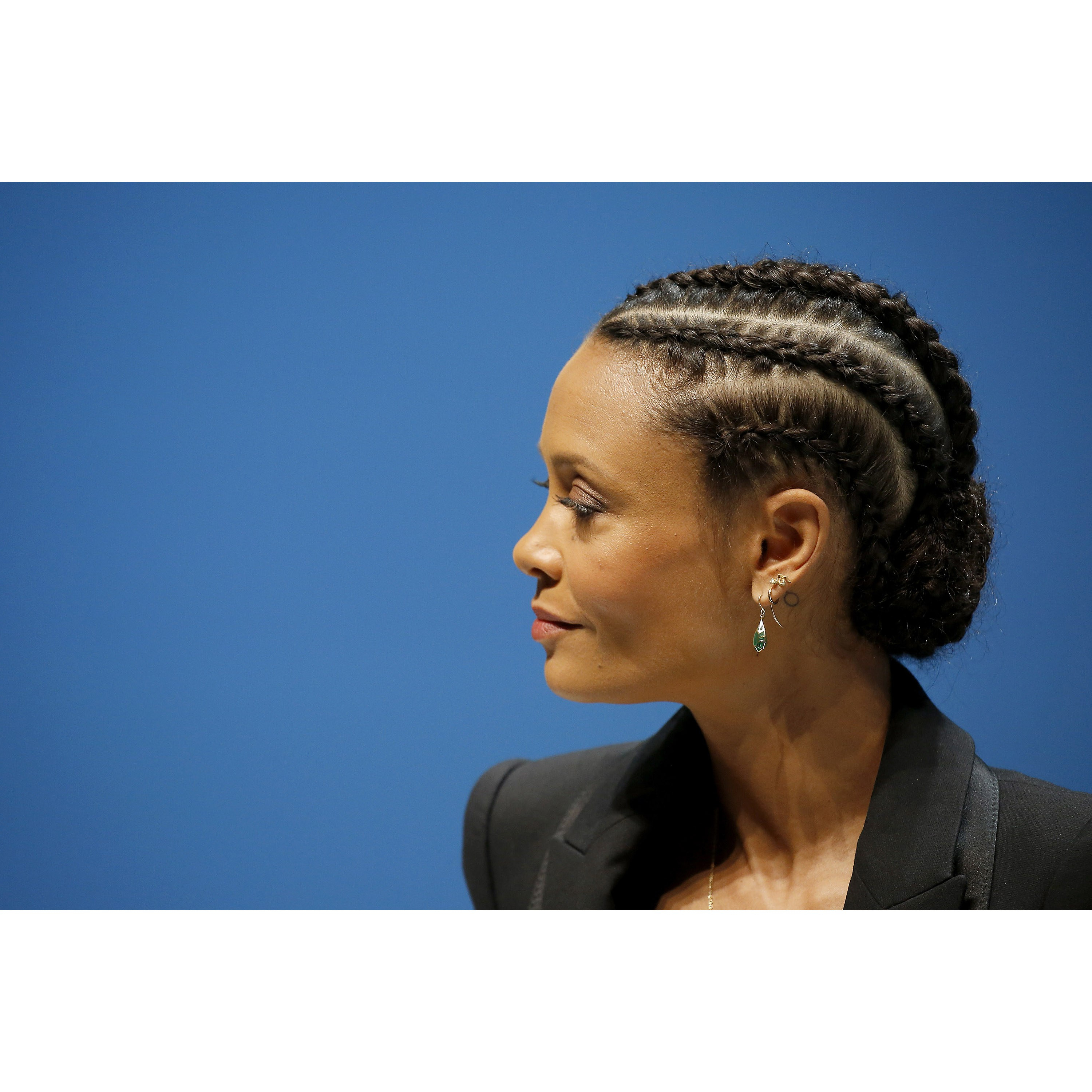 Allure For Most Current Natural Protective Bun Micro Braid Hairstyles (Gallery 16 of 20)