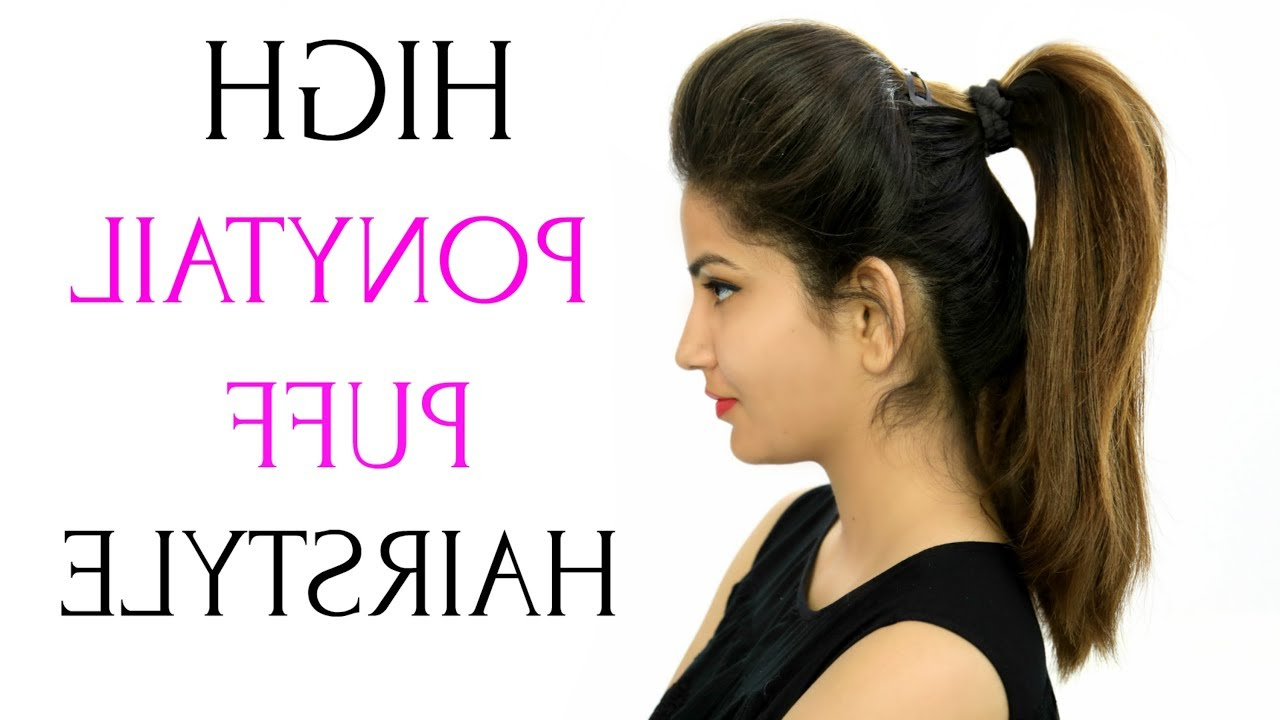 Anaysa In Most Current Sky High Pony Updo Hairstyles (View 7 of 20)
