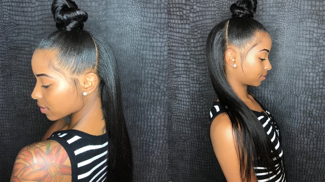Back To School Half Up Half Down Sew In Ft (View 14 of 20)