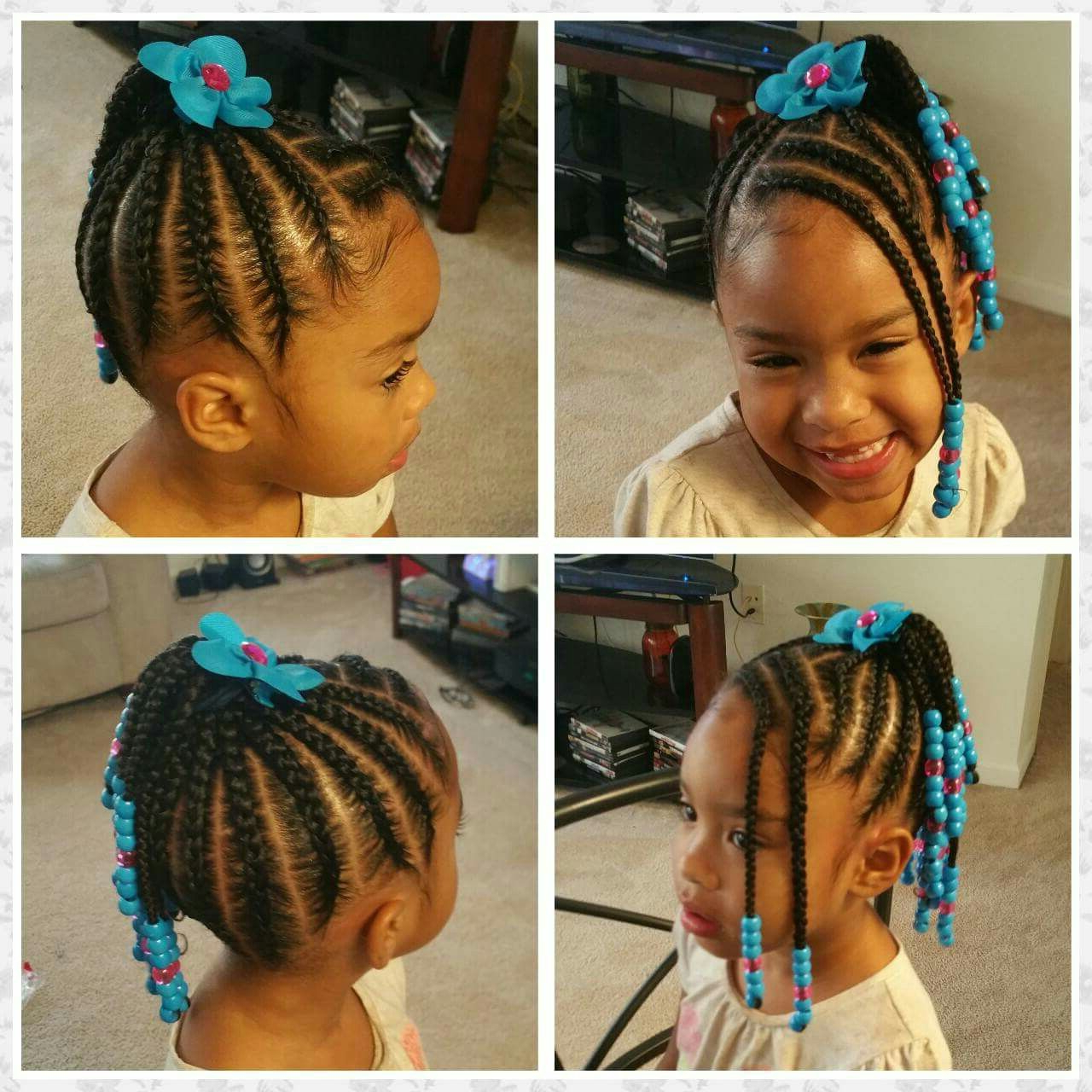 Featured Photo of Beaded Bangs Braided Hairstyles