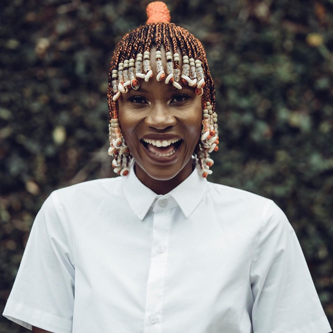 Best And Newest Bob Braid Hairstyles With Bangs With Regard To These 16 Short Fulani Braids With Beads Are Giving Us Life (View 13 of 20)