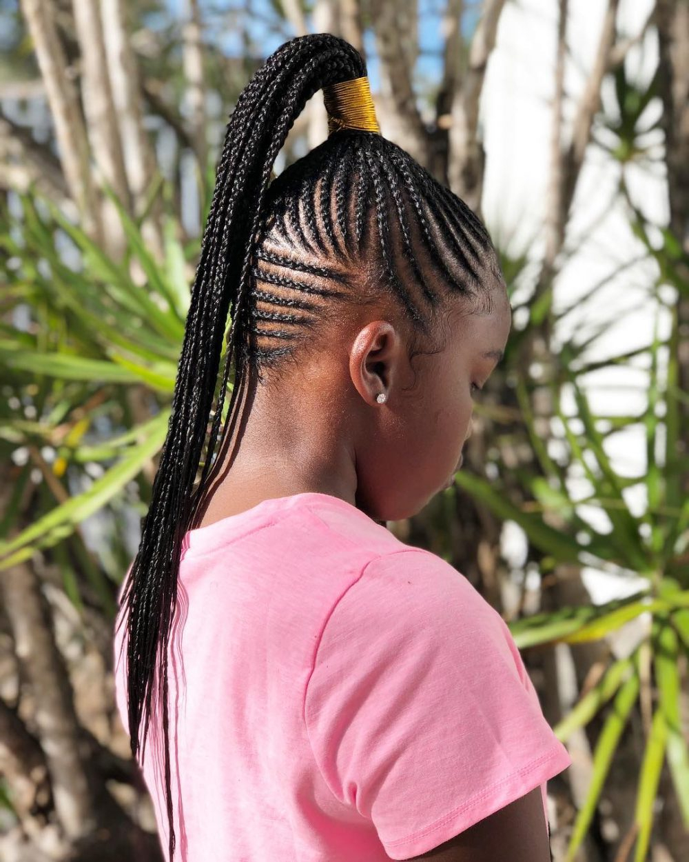 Best And Newest Chunky Ghana Braid Hairstyles Inside 17 Greatest Ghana Braids And Hairdos For (View 13 of 20)