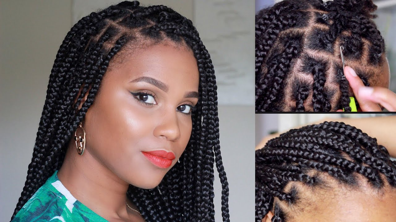 Best And Newest Crochet Mohawk Twists Micro Braid Hairstyles Pertaining To Rubber Band/crochet Box Braid Method: Beginner Friendly (View 17 of 20)
