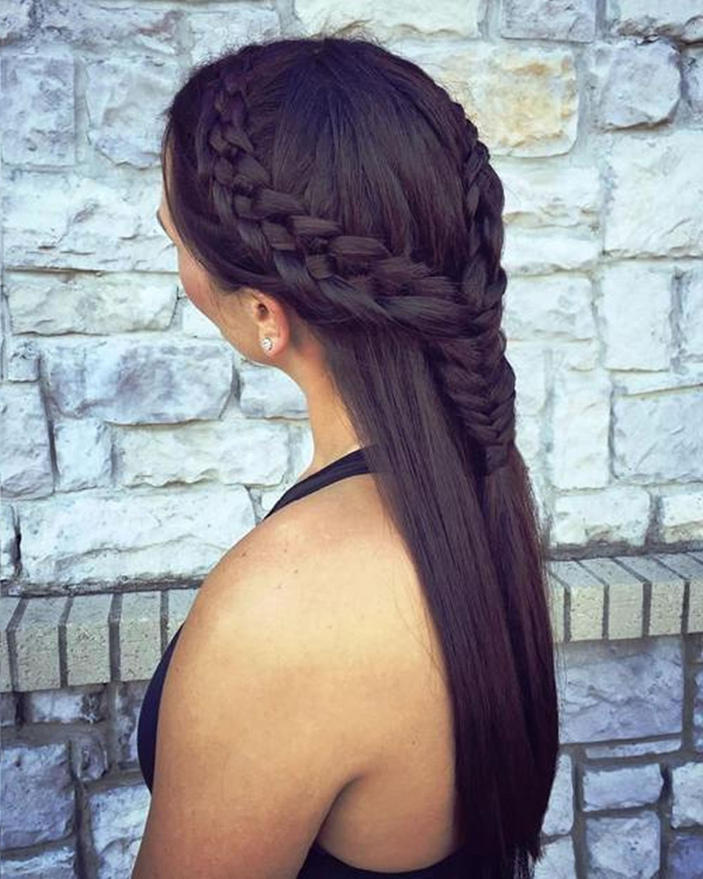 Best And Newest Double Half Up Mermaid Braid Hairstyles Inside French Braids 2018 (Mermaid, Half Up, Side, Fishtail Etc (View 20 of 20)