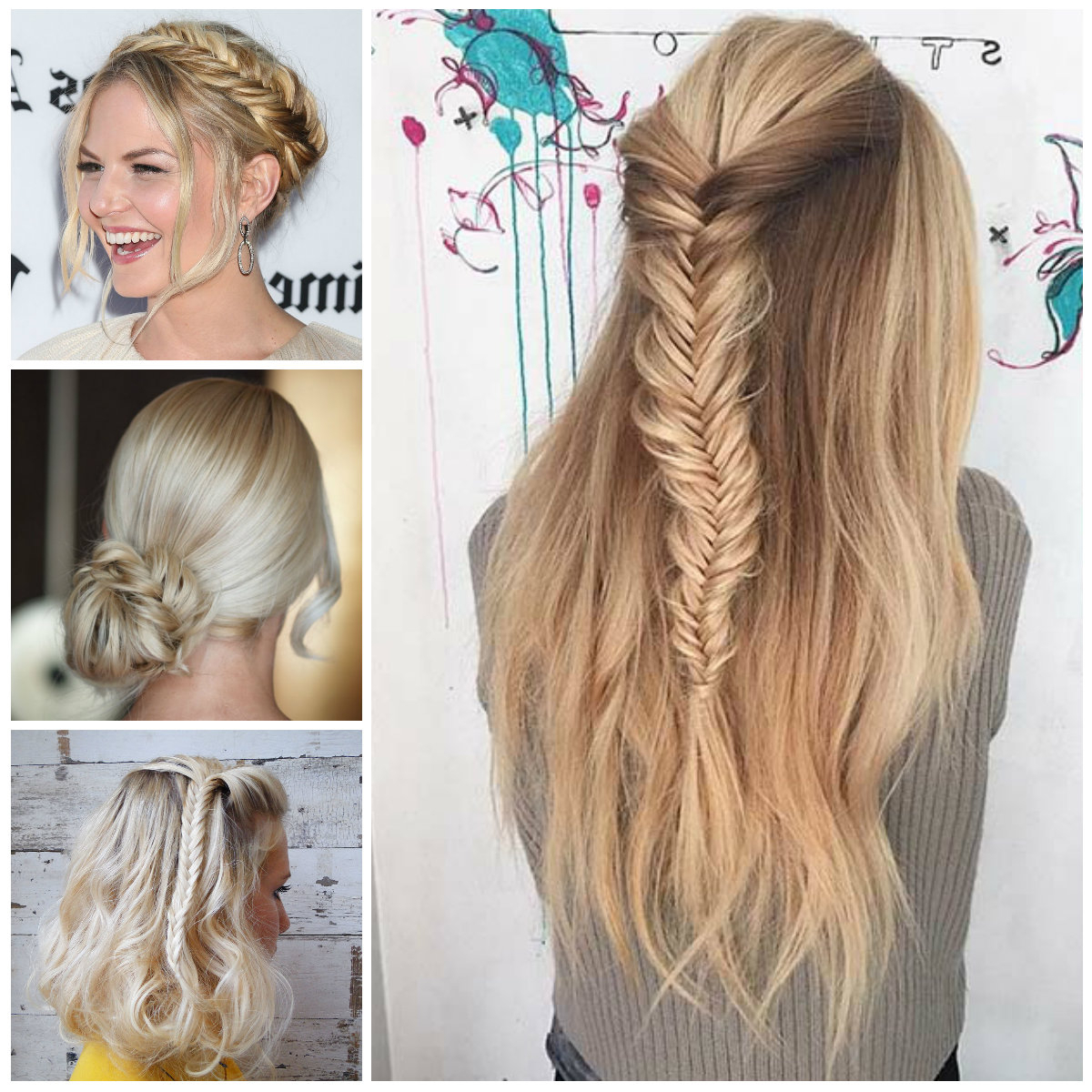 Best And Newest Fishtail Crown Braided Hairstyles With 2016 Hottest Hairstyles With Fishtail Braids (View 2 of 20)