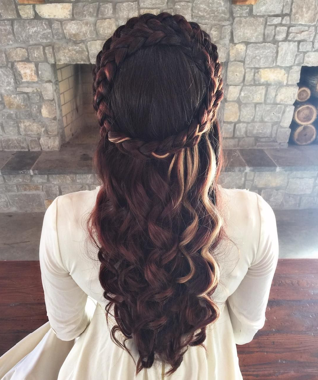 Best And Newest Medieval Crown Braided Hairstyles Pertaining To You Look Positively Medieval! #hairbypelerossi #maiden (View 7 of 20)
