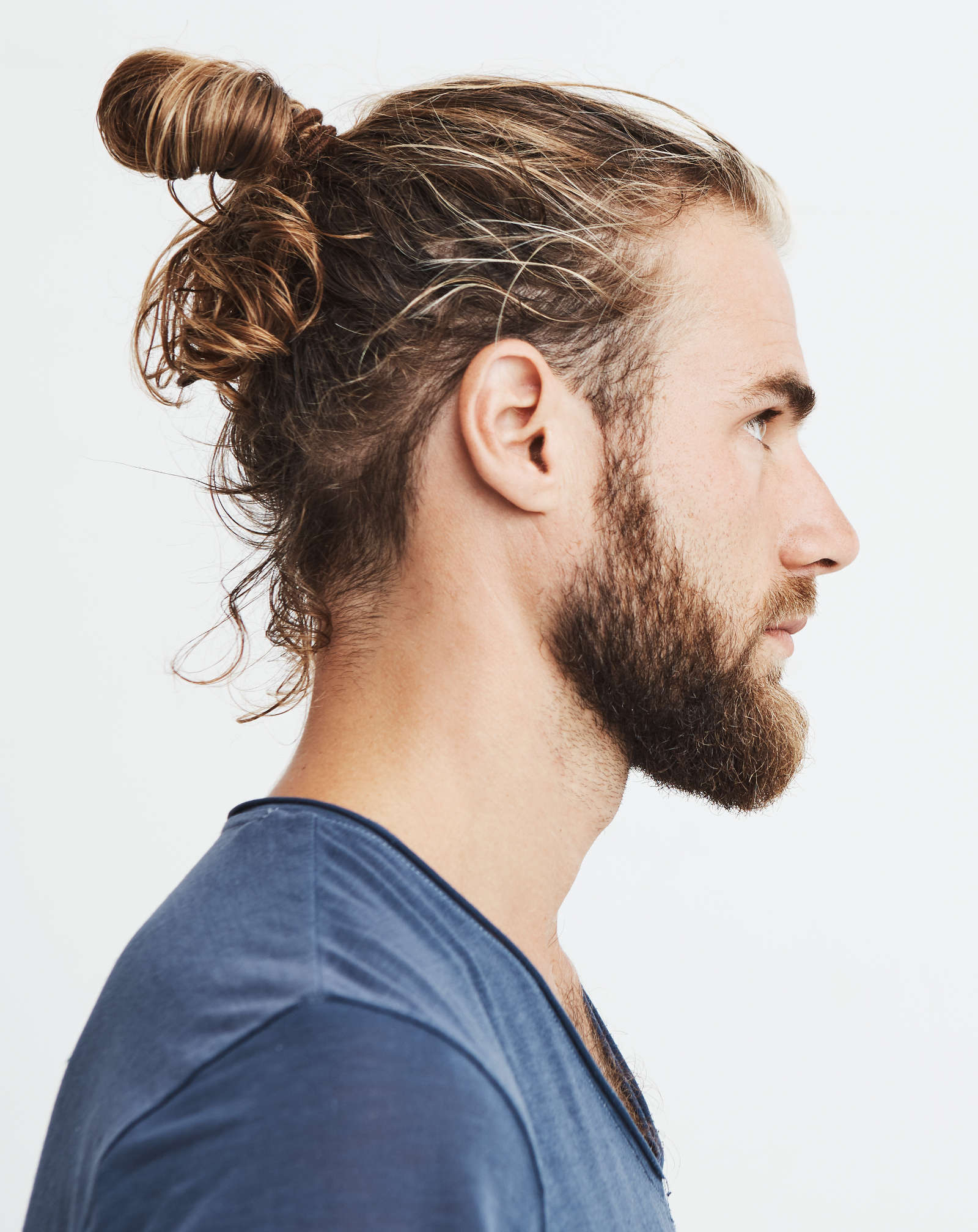 Best And Newest Mini Buns Hairstyles Regarding 7 Types Of Man Bun Hairstyles (View 15 of 20)