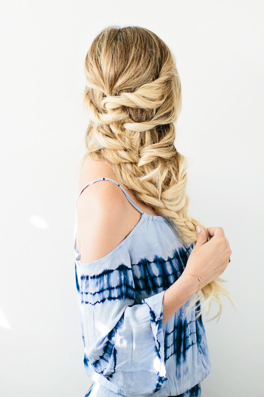 Best And Newest Twisted Mermaid Braid Hairstyles Pertaining To Dove #loveyourhair Twisted Braid Hair Tutorialdash Of (View 18 of 20)