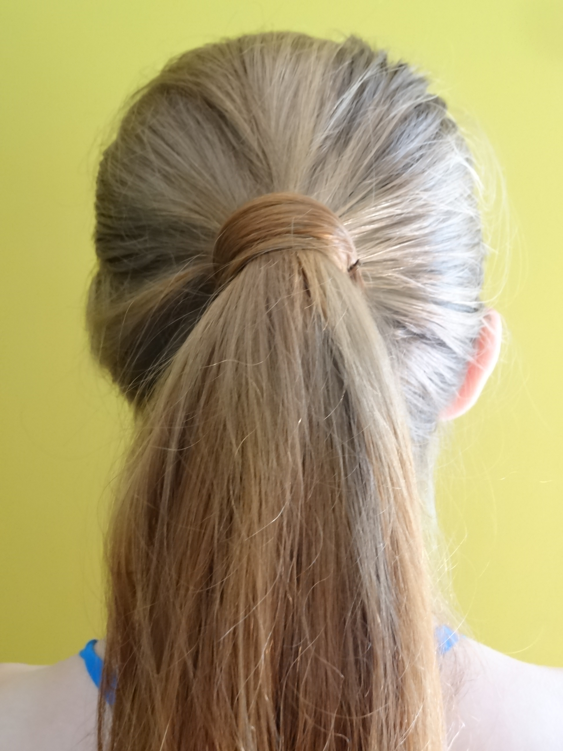 Best And Newest Wrapped Ponytail Hairstyles Intended For File:hair Wrapped Ponytail – Wikimedia Commons (View 2 of 20)