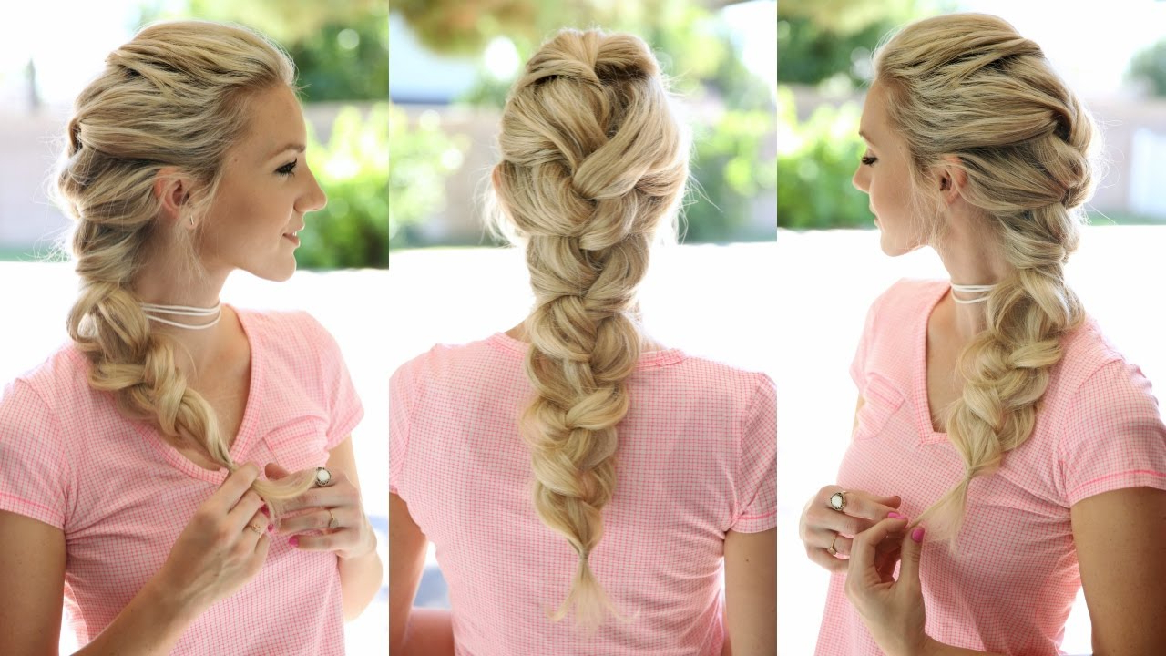 Big French Braid (elsa Braid) For Recent Oversized Fishtail Braided Hairstyles (View 8 of 20)