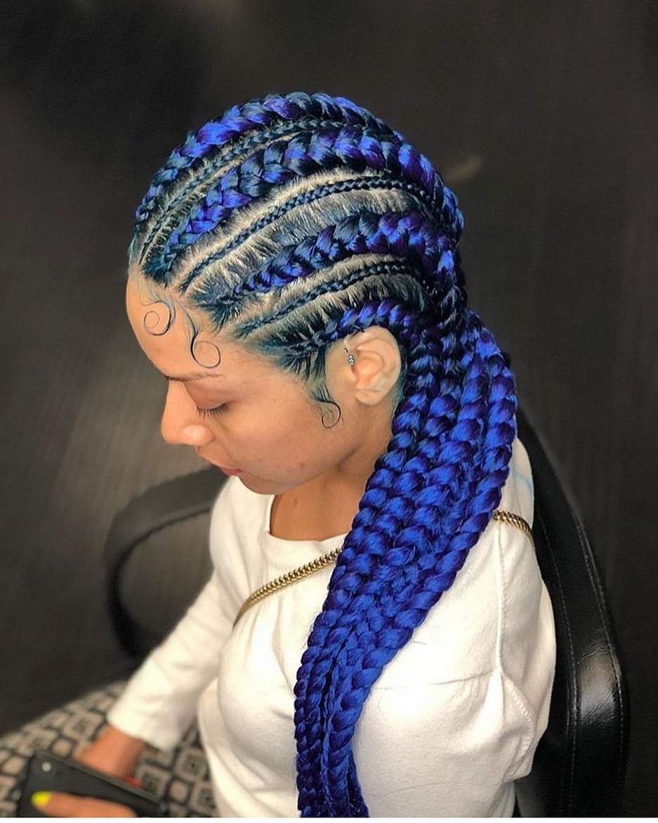 Featured Photo of Thick Cornrows Braided Hairstyles