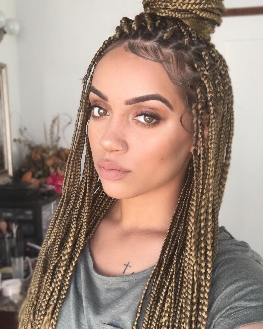 Blonde Box Regarding Best And Newest Box Braided Hairstyles (View 17 of 20)
