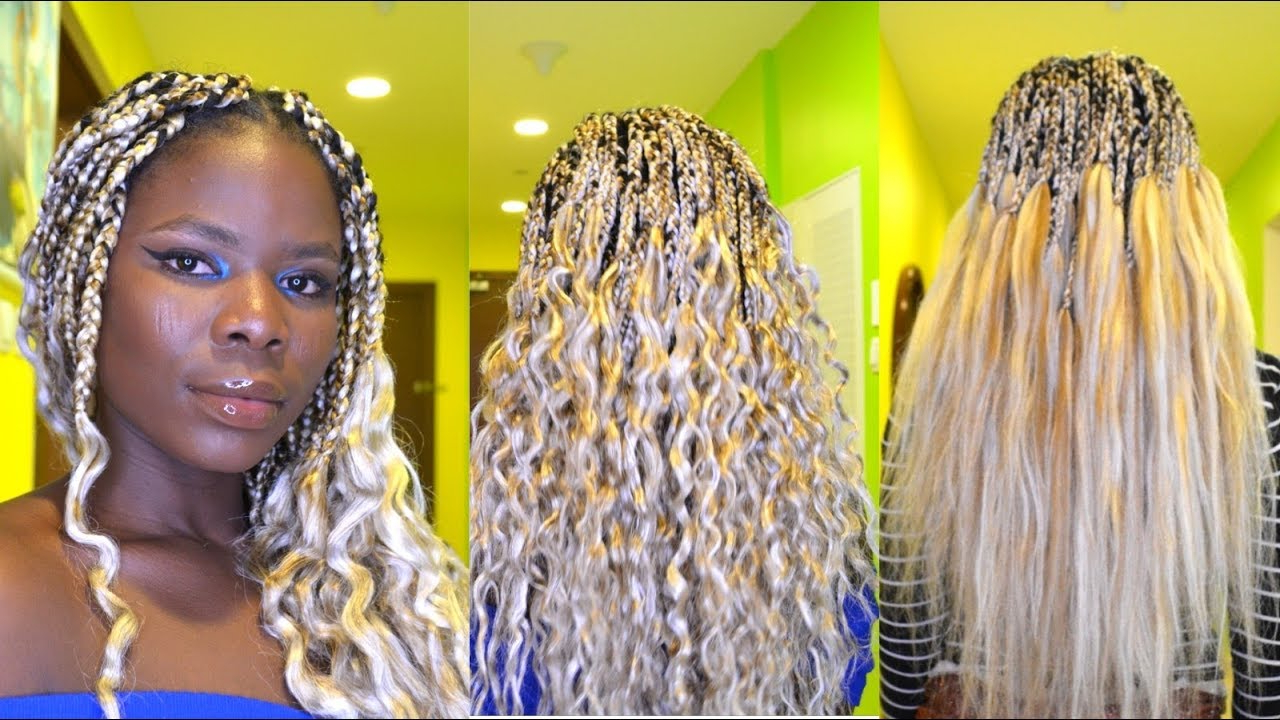 Blonde Braids Mix Color 613, 60 & (View 12 of 20)