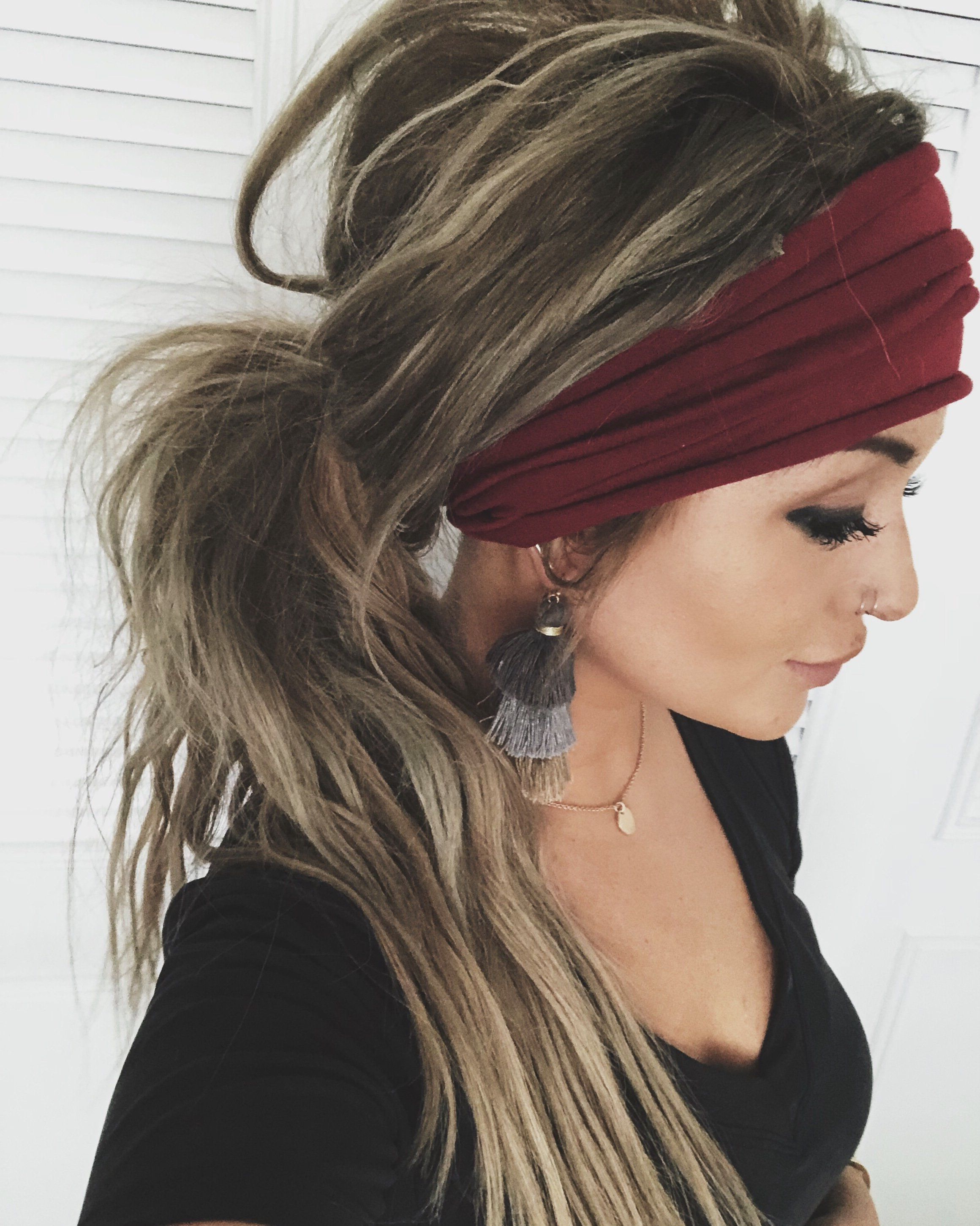 Boho For Favorite Loose Braided Hairstyles With Turban (View 3 of 20)