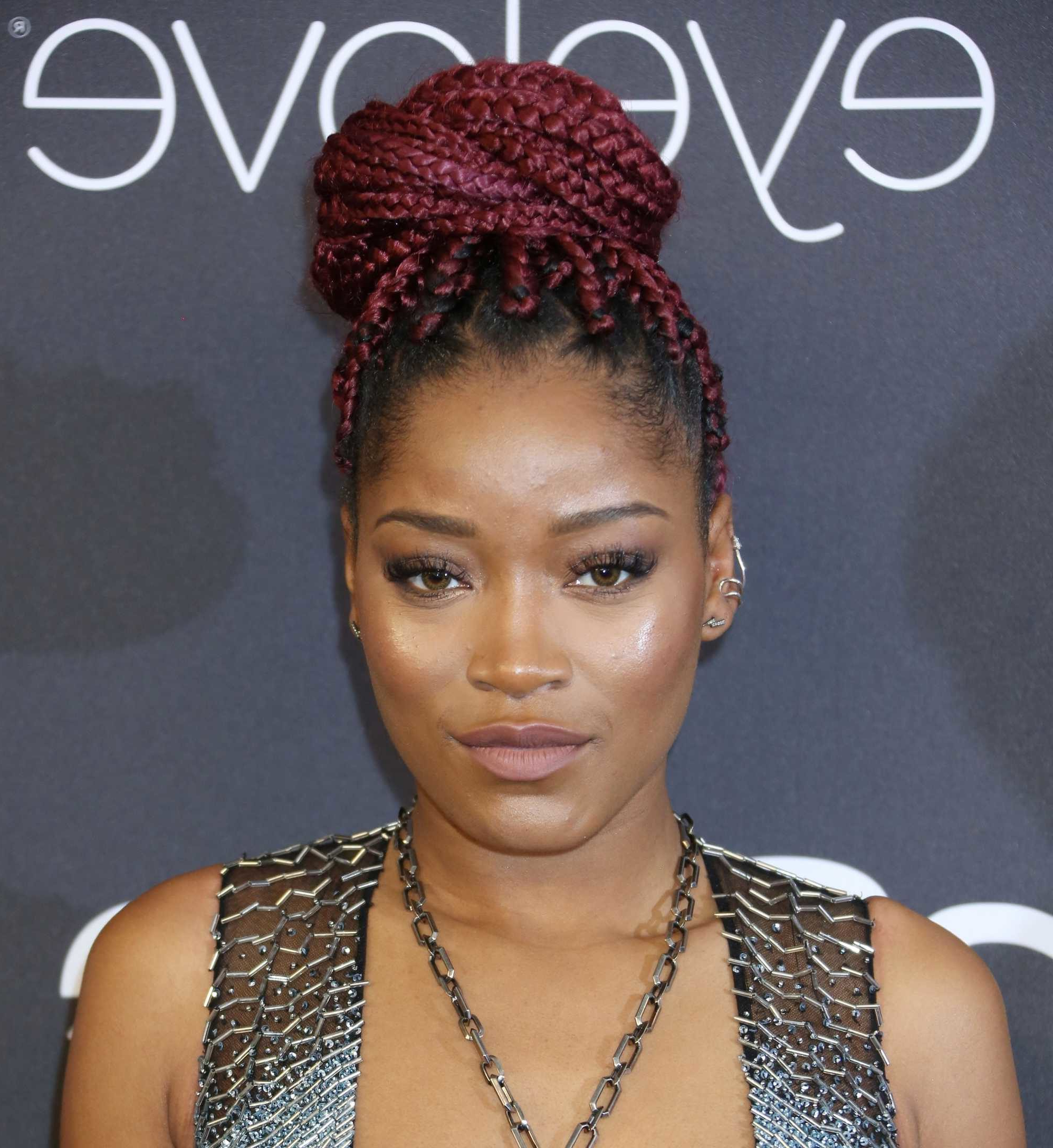 Box Braids: 13 Pretty Hairstyles To Inspire Your Next Look In Well Known Box Braided Bun Hairstyles (View 7 of 20)