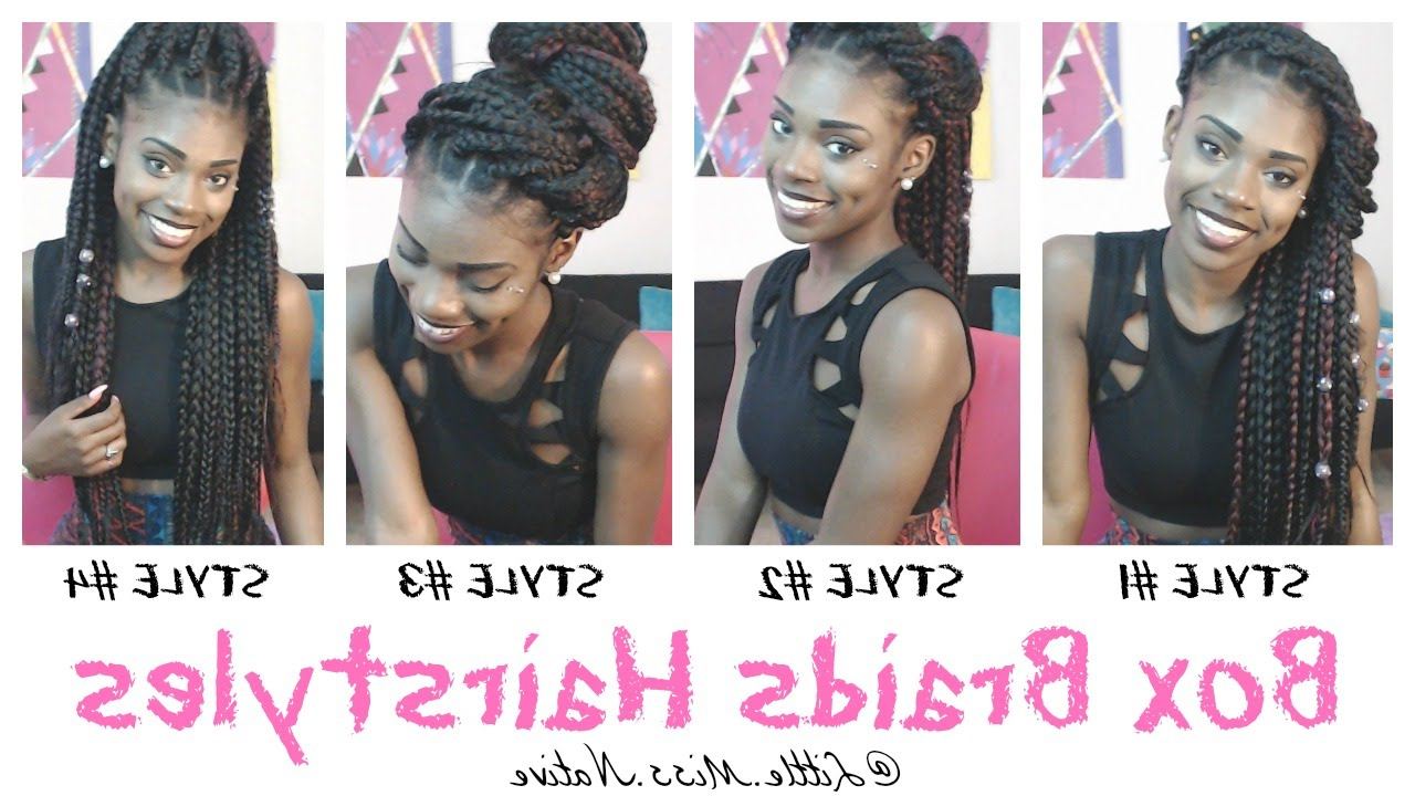 Box Braids Hairstyles Throughout Famous Dookie Braid Bump Hairstyles (View 6 of 20)