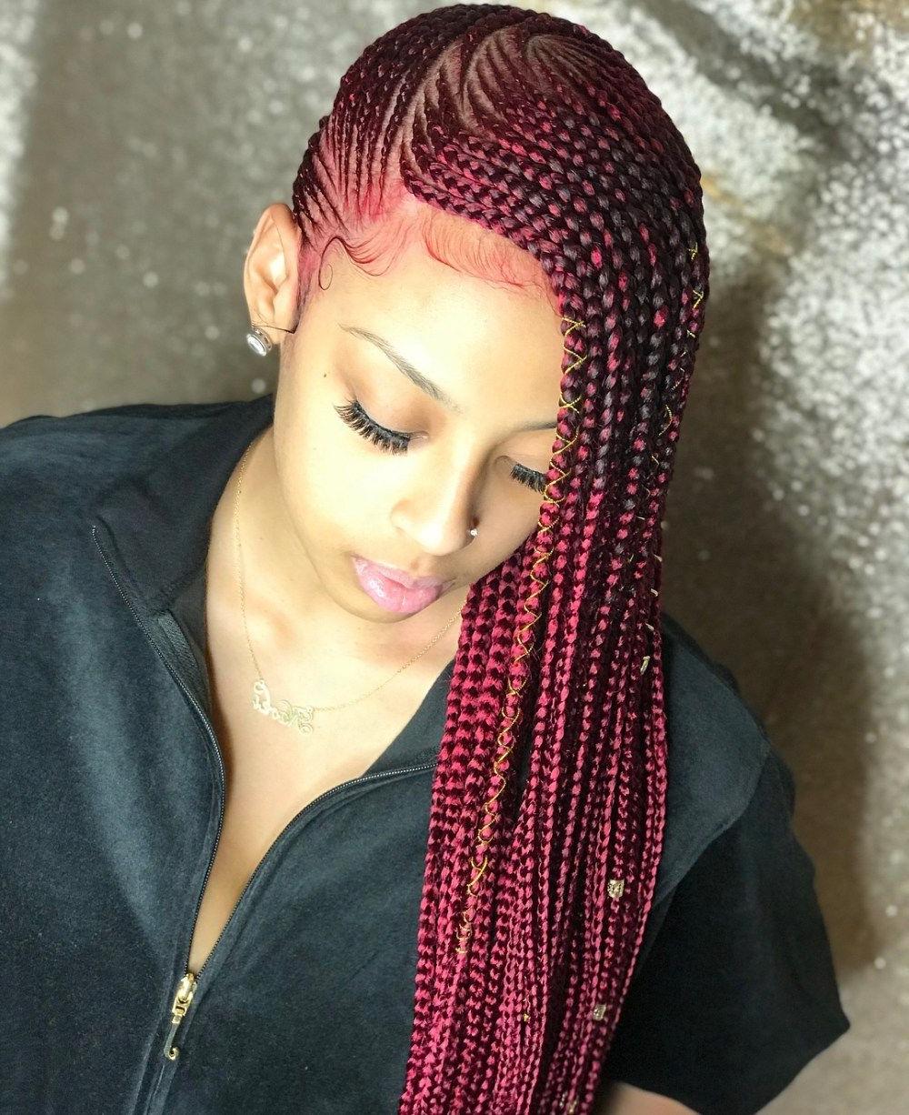 Featured Photo of Cherry Lemonade Braided Hairstyles