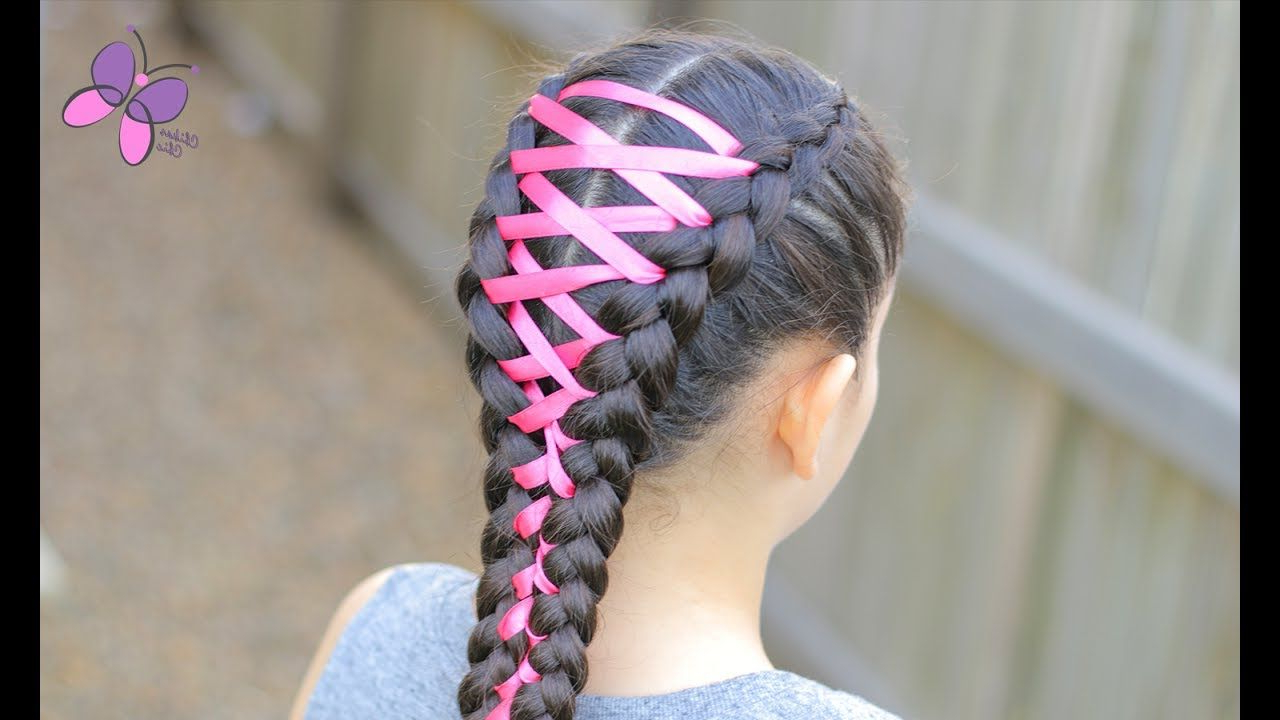Braided Hairstyles Throughout Fashionable Corset Braided Hairstyles (View 4 of 20)