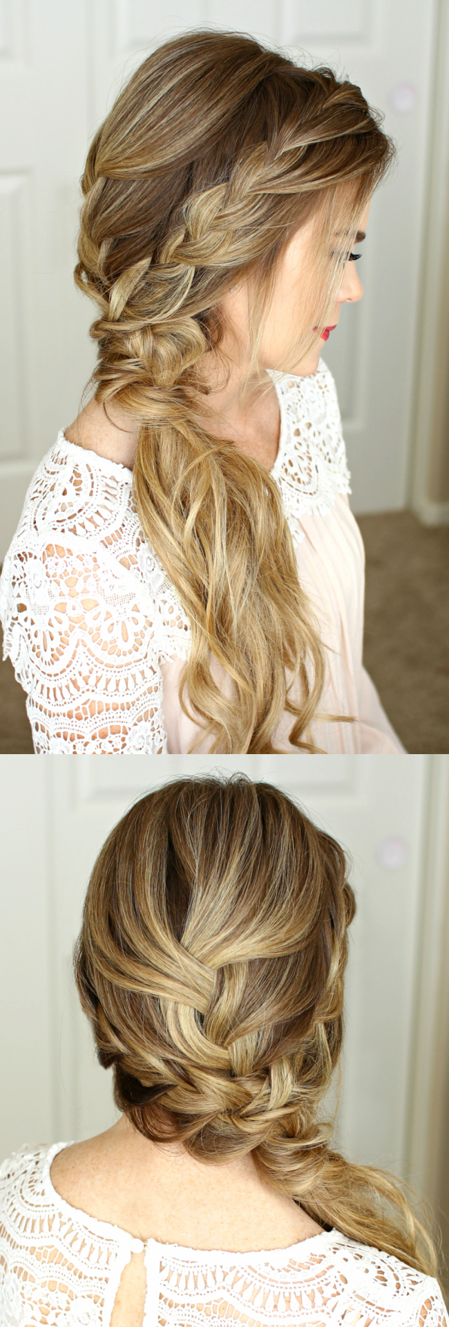 Braided Side Swept Prom Hairstyle (View 8 of 20)