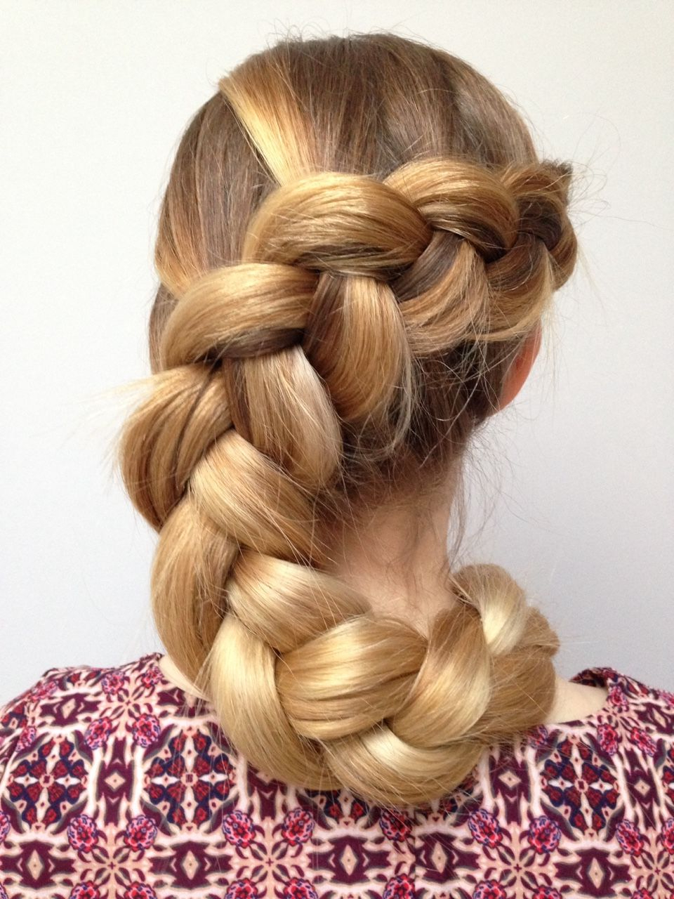 Braided Within 2020 Oversized Fishtail Braided Hairstyles (View 11 of 20)