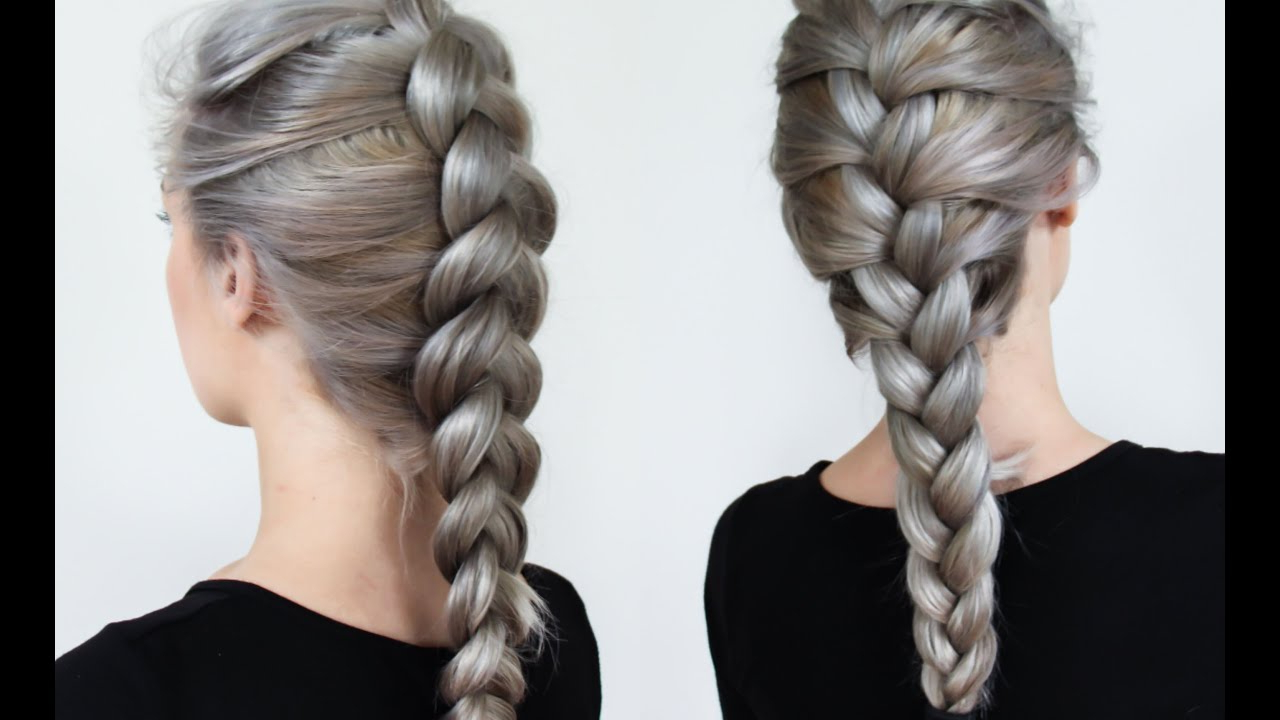 Braiding Styles – Three Strand Braid With Regard To Fashionable Three Strand Long Side Braided Hairstyles (View 5 of 20)