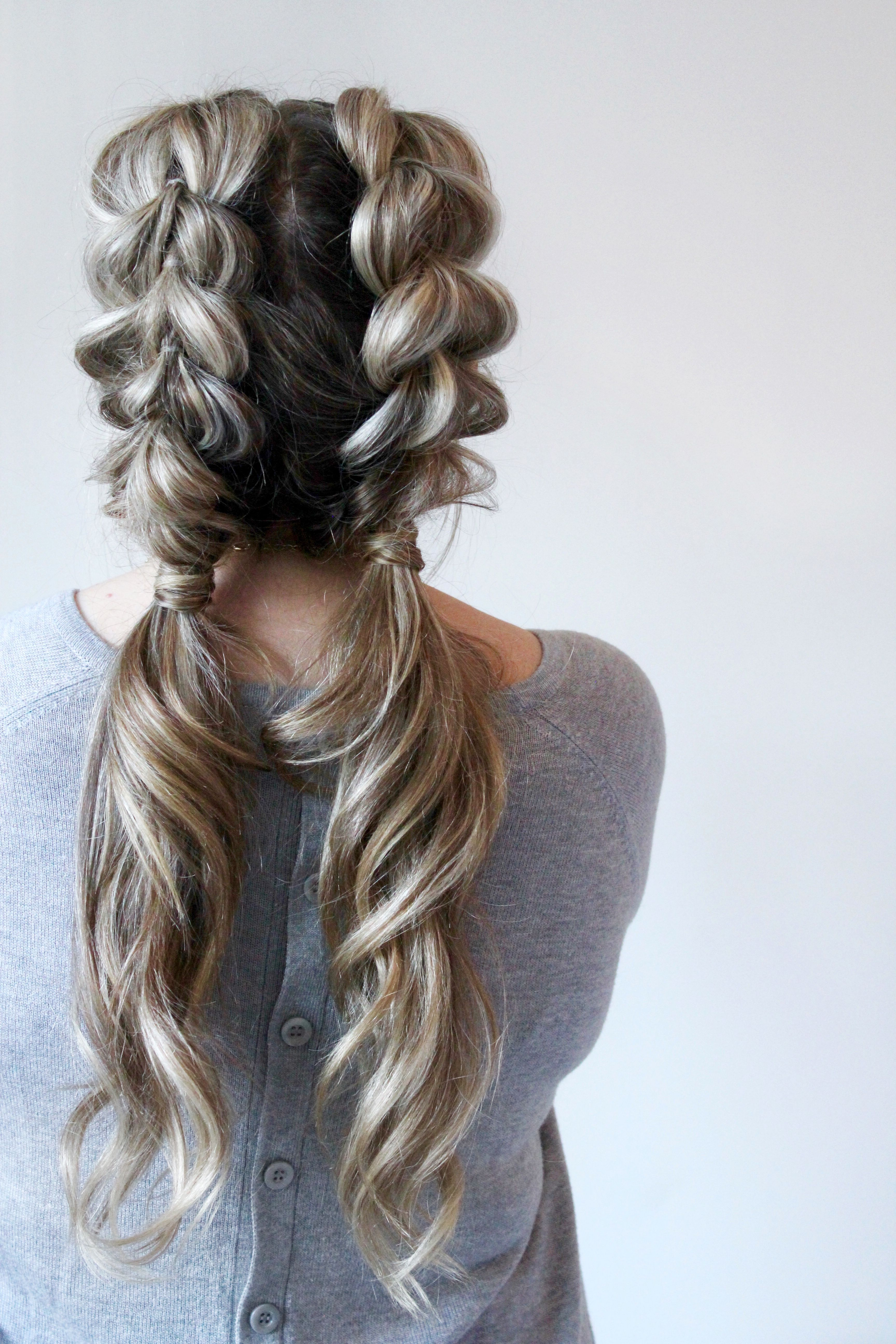 Featured Photo of Pull Through Ponytail Updo Hairstyles