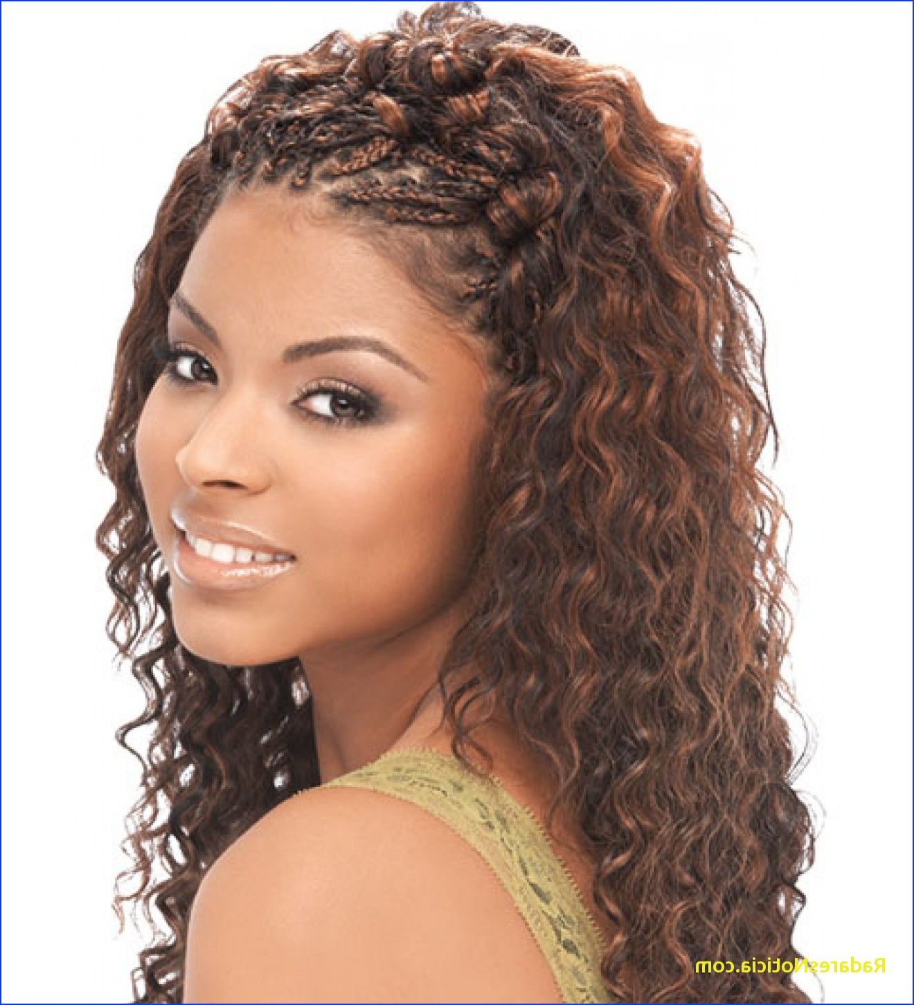 Braids And Curls For Black Hair Micro Braids Hairstyles With Inside Current Micro Braided Hairstyles (View 20 of 20)