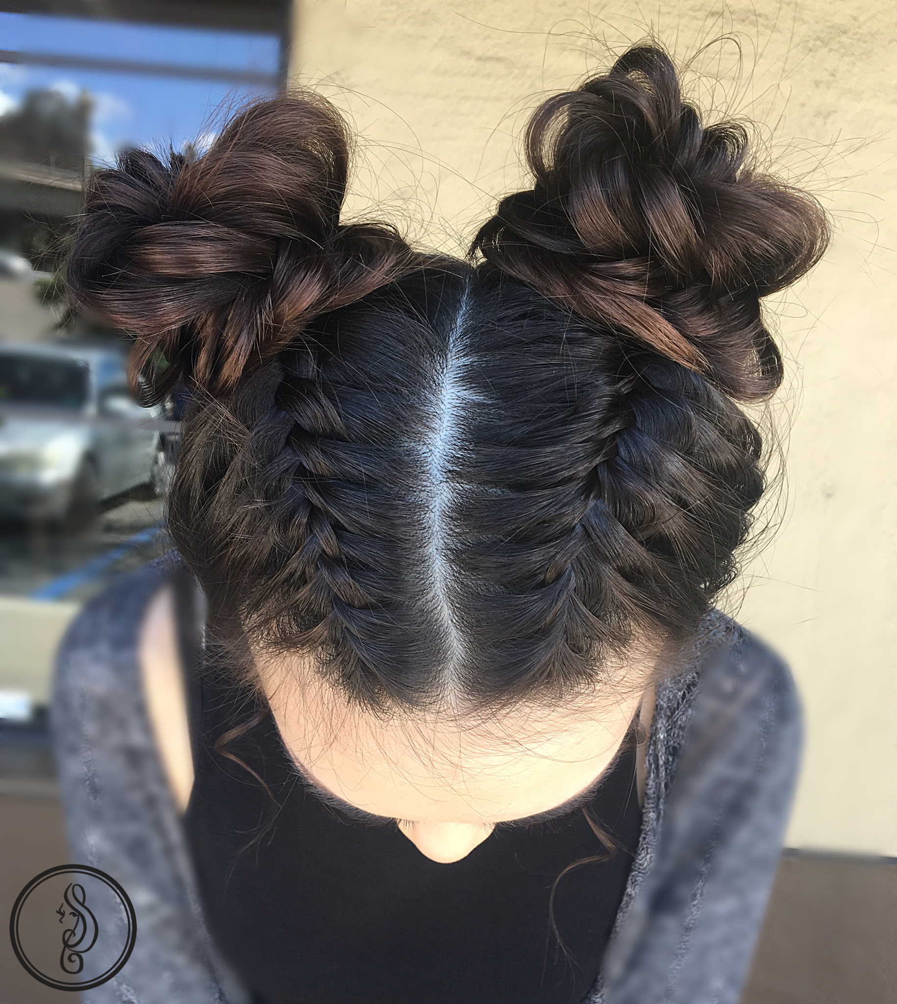 Braids And Space Buns! (View 4 of 20)