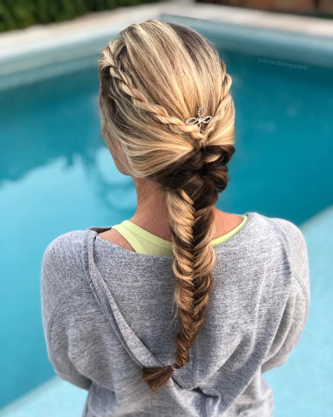 Braids, Braided Hairstyles, Hair Inside Recent Rope And Fishtail Braid Hairstyles (View 8 of 20)
