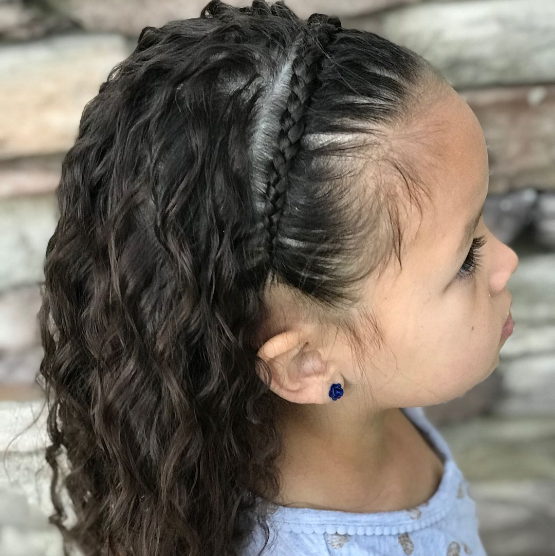 Braids, Curly For Favorite Headband Braided Hairstyles With Long Waves (View 4 of 20)