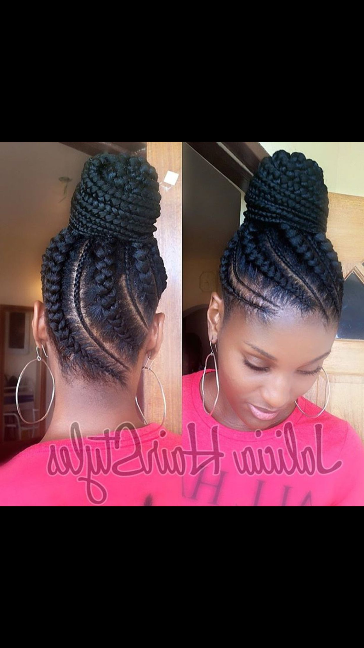 Braids For Black (View 5 of 20)