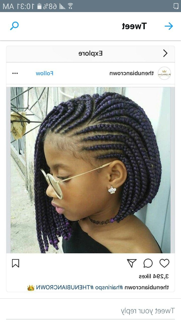 Featured Photo of Layered Bob Braid Hairstyles