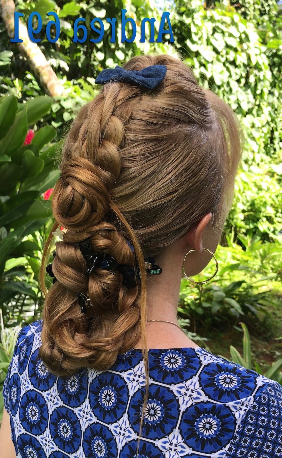 Braids & Hairstyles For Super Long Hair: Stacked Braids Updo Regarding Most Current Stacked Buns Updo Hairstyles (View 16 of 20)