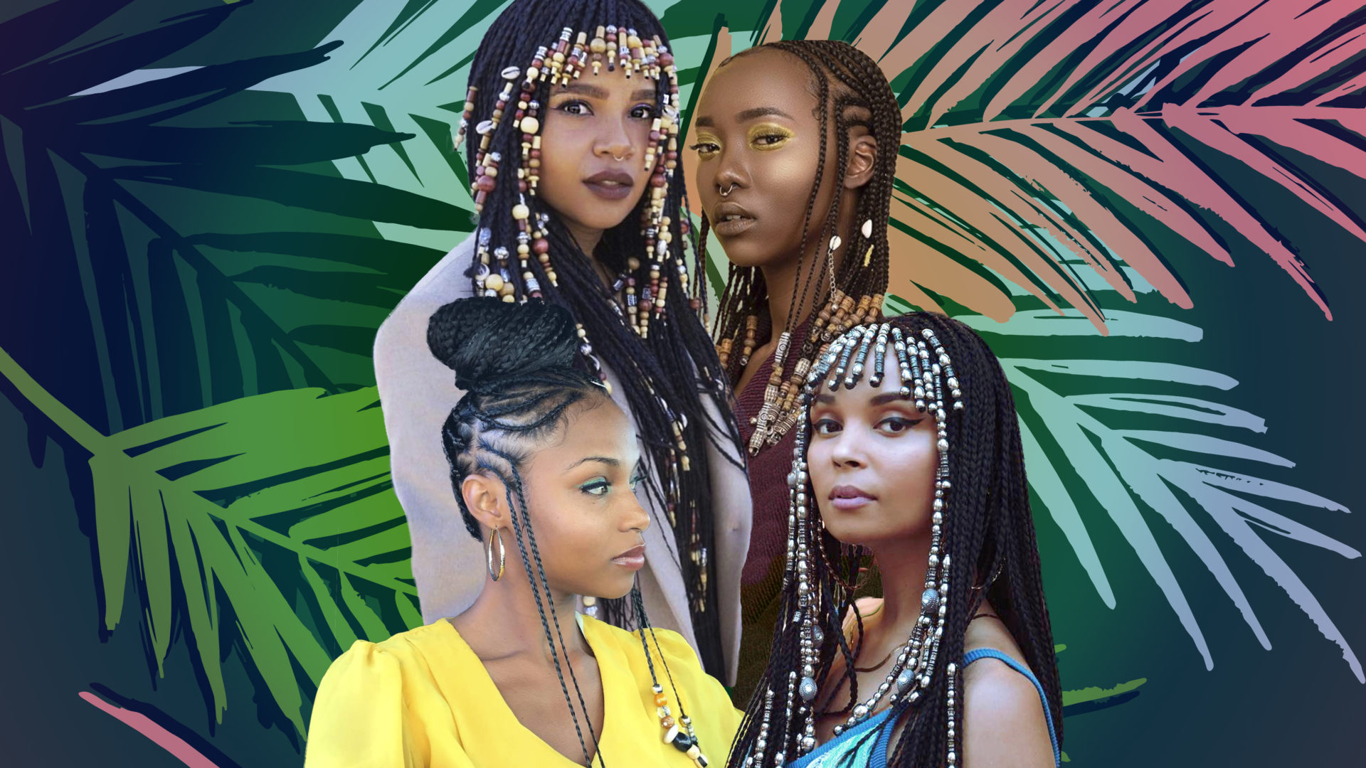 Braids With Beads Inspiration – Essence With Regard To Recent Beaded Bangs Braided Hairstyles (View 10 of 20)