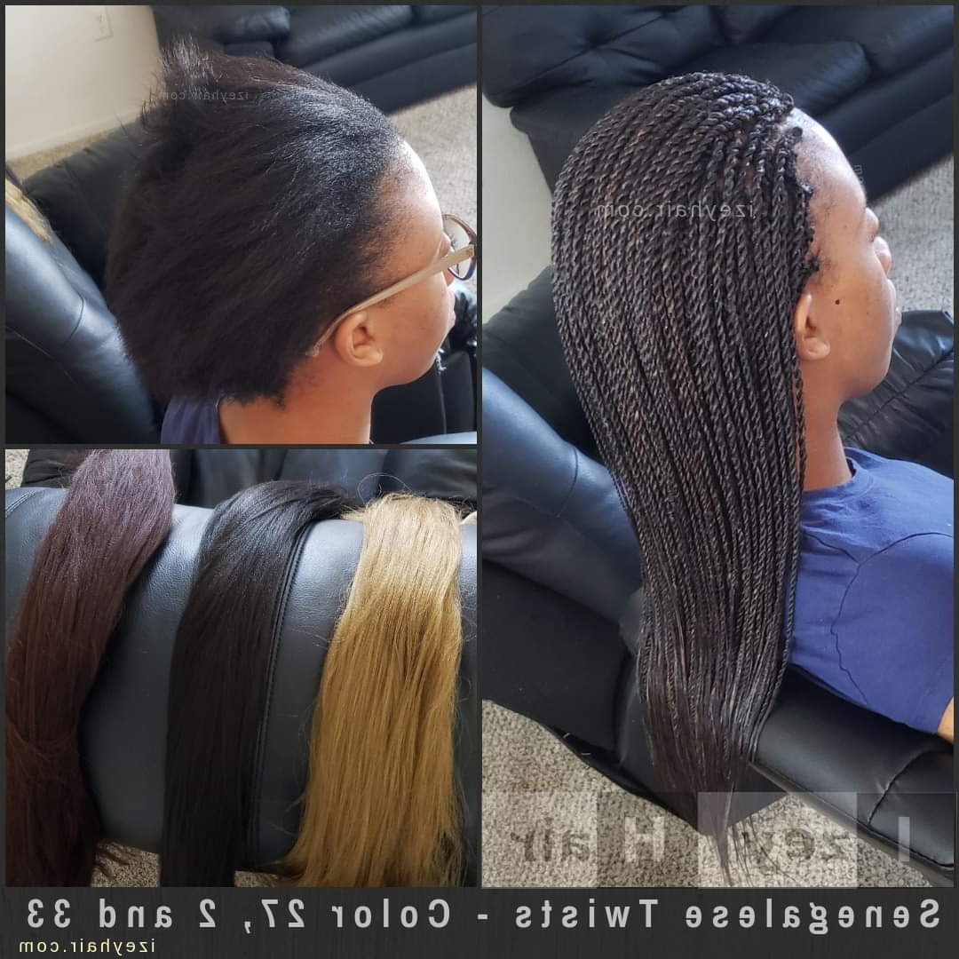 Braids With Color – Senegalese Twists (color 2, 27 And 33) Inside Widely Used Two Tone Twists Hairstyles With Beads (View 11 of 20)
